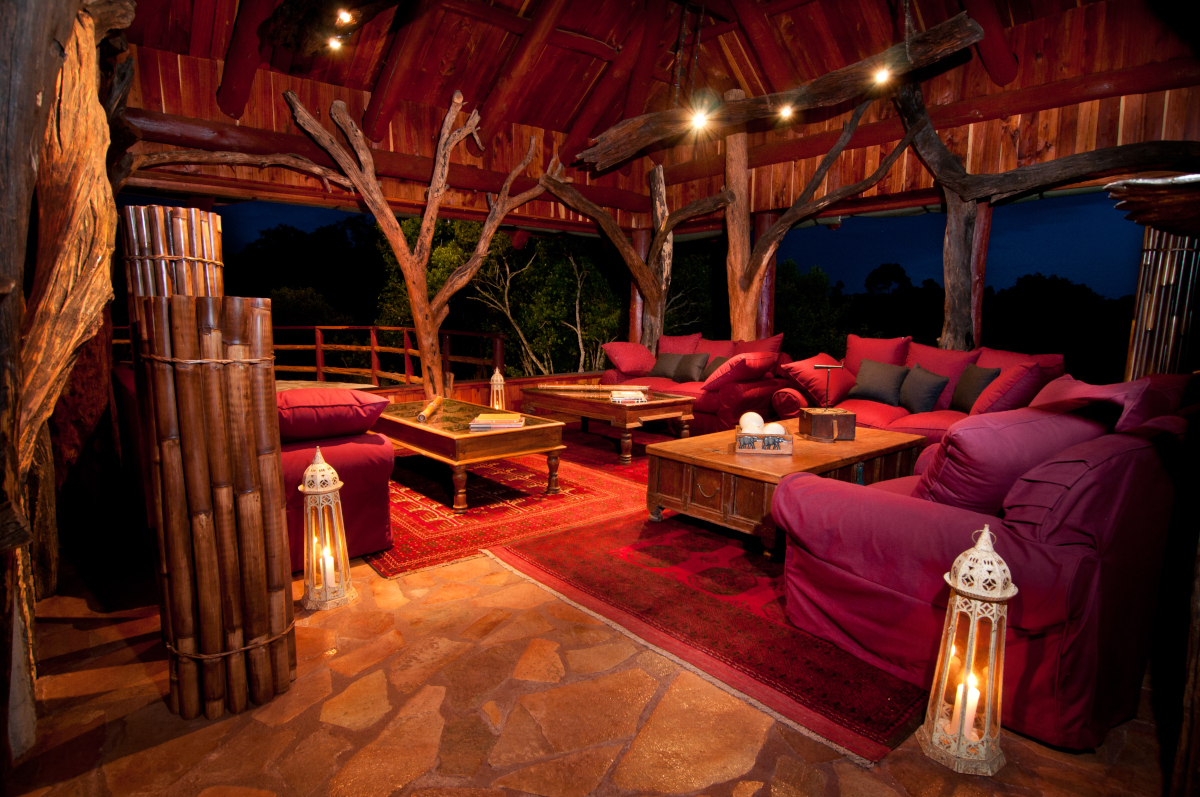 Main Lodge seating area