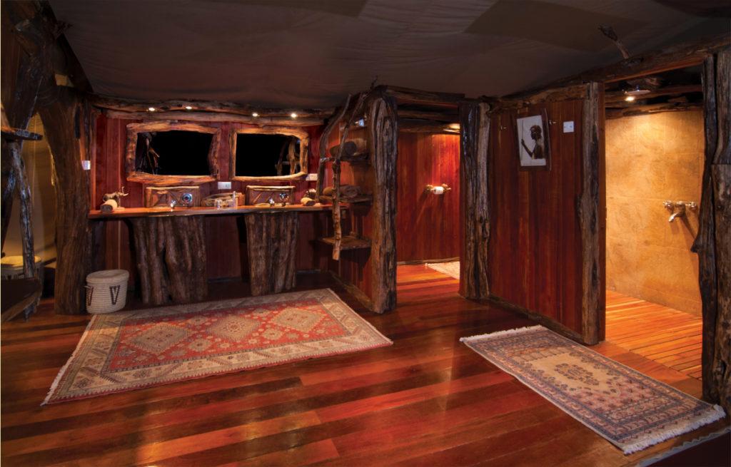 River Suite Tent Bathroom